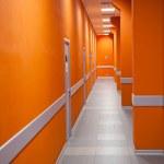 Perspective of a corridor — Stock Photo