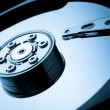 Hard drive macro image — Stock Photo