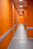 Perspective of a corridor — Stock Photo