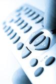 Telecomando in una mano — Foto Stock