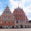 Stock Photo: House of Blackheads, Riga, Latvia.