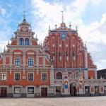 House of the Blackheads, Riga, Latvia. — Stock Photo