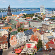 Stock Photo: View of Old Riga, Latvia