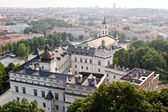 View of Vilnius old town, Lithuania — Stock Photo