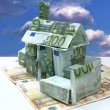 House - money - Stock Photo