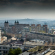 Stock Photo: Panoramic view over est europetown