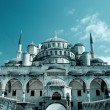 Hagia Sophia mosque in Istanbul - Stock Photo