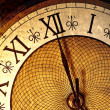 Antique clock — Stock Photo #4942082