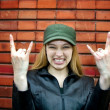 Cute rocker girl — Stock Photo #4942439
