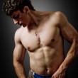 Sexy muscular guy — Stock Photo