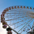 Giant ferry wheel at Prater — Stock Photo