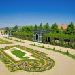 Gardens of Schonbrunn palace — Stock Photo