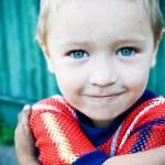 sevimli küçük çocuk — Stok fotoğraf #4943038