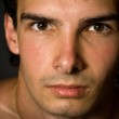 Close-up portrait of handsome man — Stock Photo
