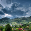 Panoramic view of rural region — Stock Photo