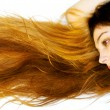 Stock Photo: Long and beautiful hair