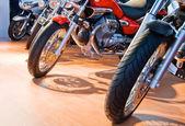 Moto salon — Stock Photo