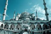 圣索非亚大教堂圣索菲亚清真寺的伊斯坦堡 — 图库照片