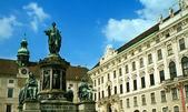 Monument in front of Imperial Palace, Vienna — Stock Photo