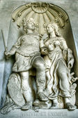 Sculpture at Imperial Palace of Vienna — Stock Photo