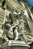 Statue at Imperial Palace in Vienna — Stock Photo