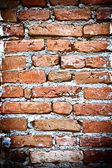 Brickwall fond vertical — Photo
