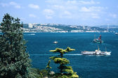 Bosphorus strait, Istanbul, Turkey — Stock Photo