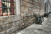 Ancient stonewall at Topkapi Palace, Istanbul — Stock Photo