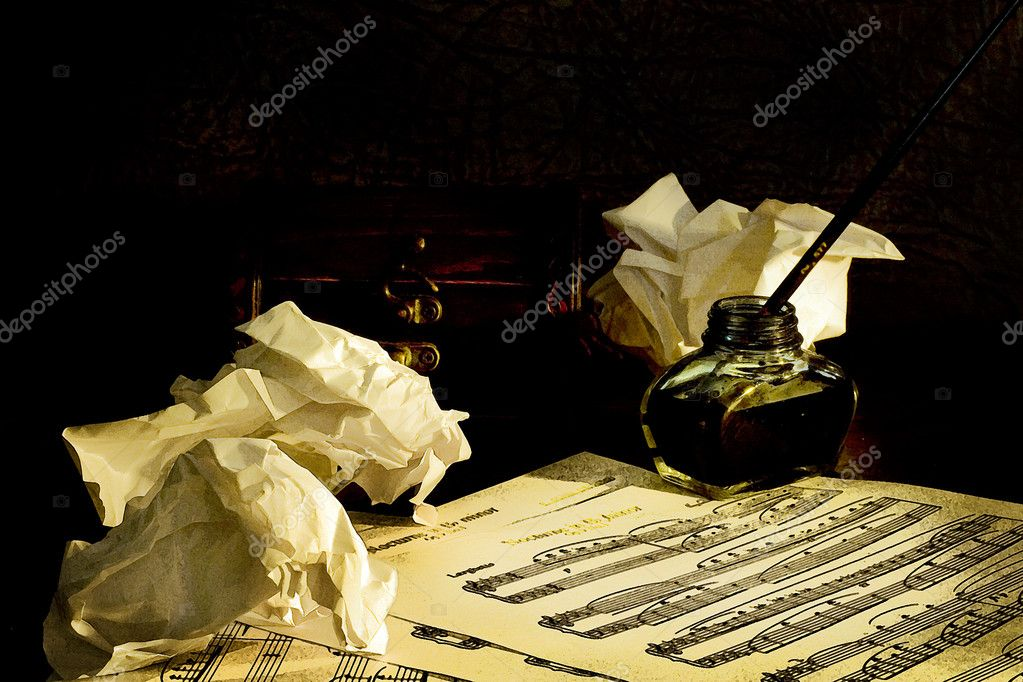 Old musicsheets. Concept  — Stock Photo #4942312