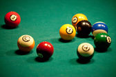Billiard - pool balls — Stock Photo