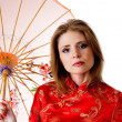 China-style woman — Stock Photo