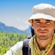 Stock Photo: Hiker