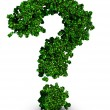 Royalty-Free Stock Photo: Environmental preservation question concept
