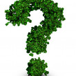 Environmental preservation question concept — Stock Photo