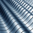 Stock Photo: Abstract wave steel background