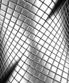Abstract silver steel background with reflection — Stock Photo