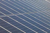 Detail of solar panels — Stock Photo