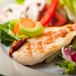 Piece of grilled chicken breast — Stock Photo #5194474