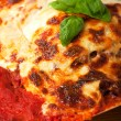 Royalty-Free Stock Photo: Closeup of a lasagna pasta dish