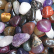 Rainbow's agates — Stock Photo