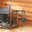 Antique scales — Stock Photo