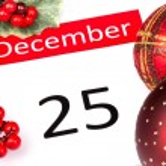 Постер, плакат: 25th December