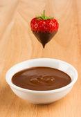 Chocolate Strawberry — Stock Photo