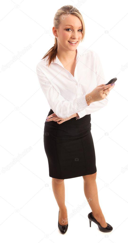 Business Woman Stock Photo Swalwellj 4642686