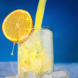 Orange juice - a fresh morning drink. — Stock Photo