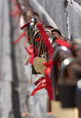 Love locks. — Stock Photo
