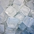 Stock Photo: Cubes of ice