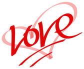 Simbolo di amore — Foto Stock