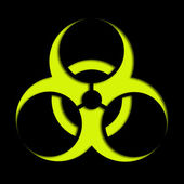 Biological hazard — Stock Photo