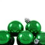 Зеленый Bauble ворс — Стоковое фото